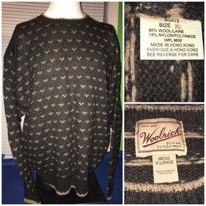 Woolrich Pullover sweater, size XL Dark gray